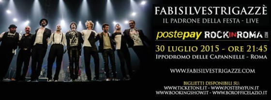 Rock in Roma > FabiSilvestriGazzè